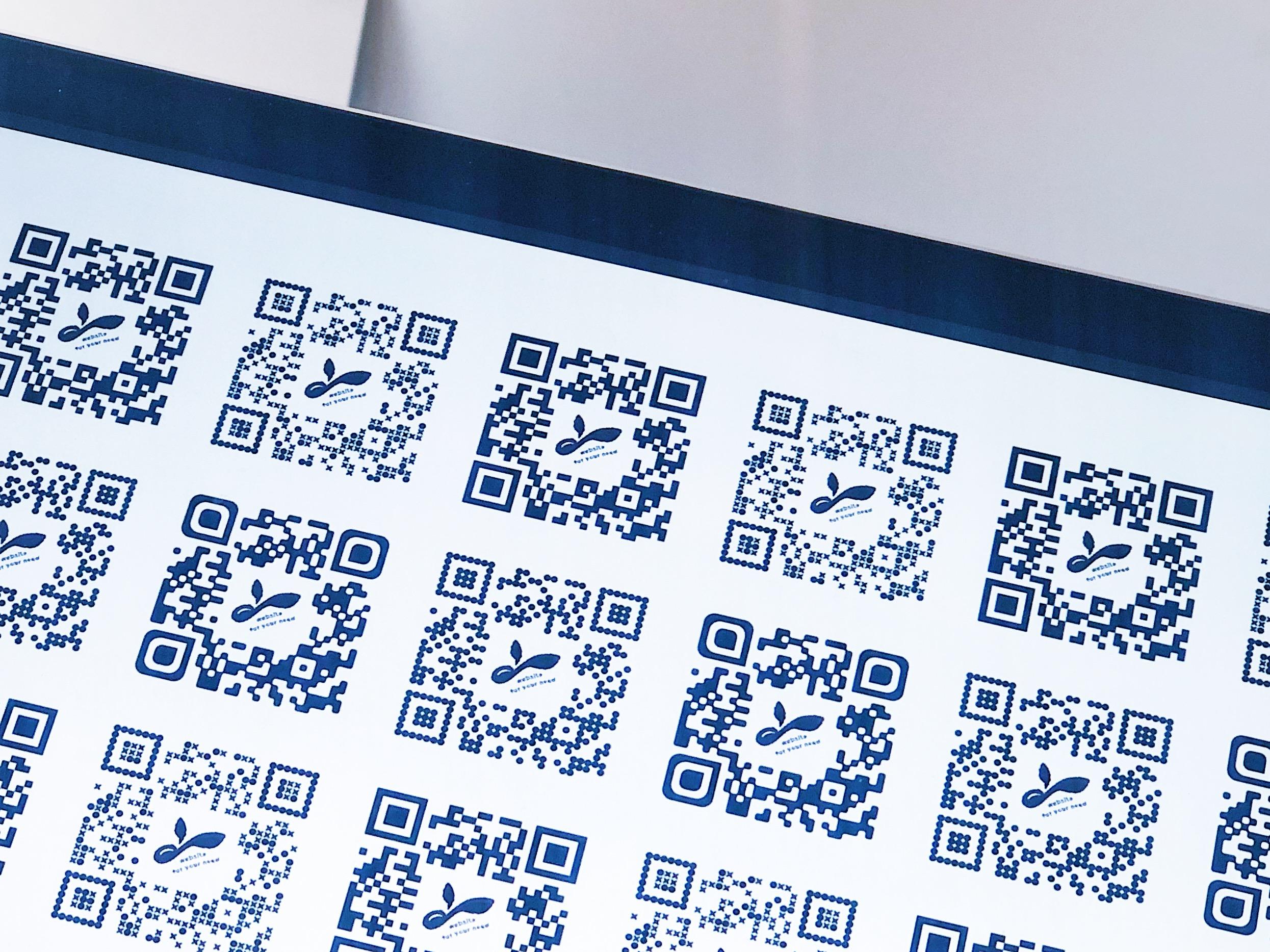デザインQRコード、ロゴ、アイコンを組み込み読み取り率アップ