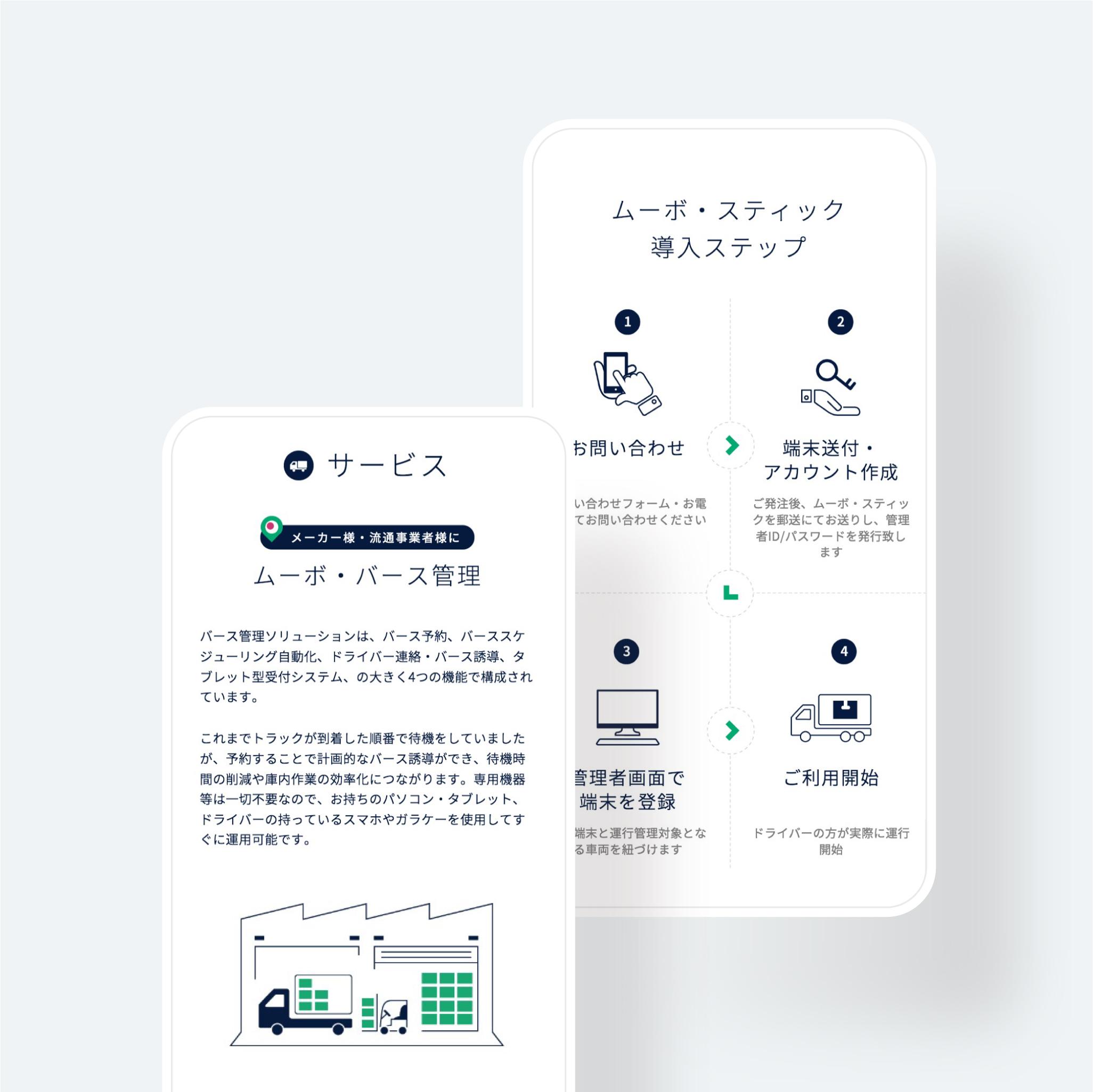 物流ソリューション WEBサイト|MOVO(ムーボ)
